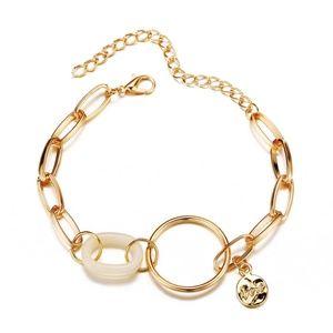 *AURELIA* Gold Chain Design Fashion Bracelet